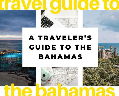 bahamas travel guide - cover 2
